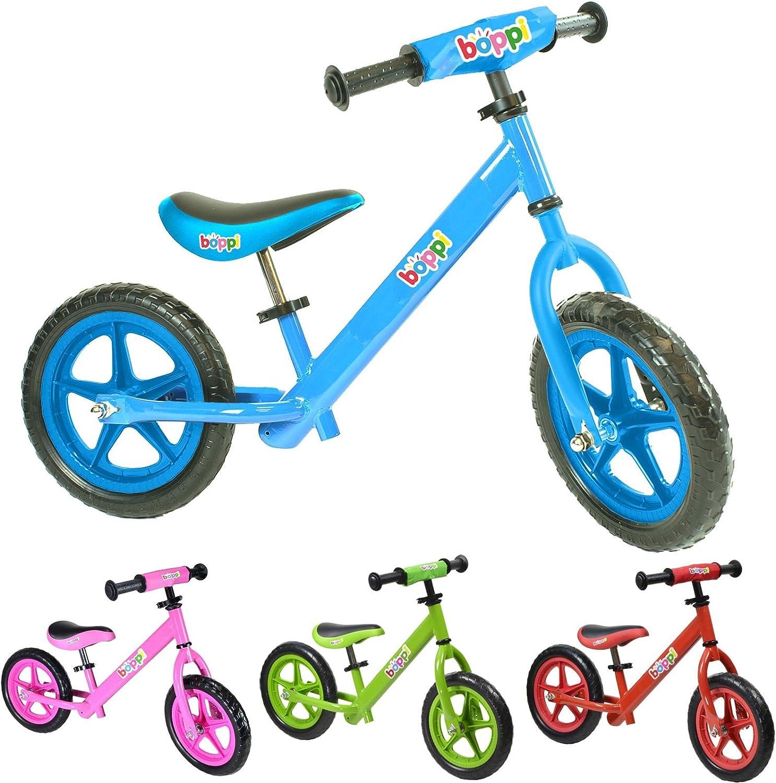 boppi® Bicicleta sin Pedales de Metal para niños de 2-5 años - Azul
