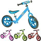 boppi Metal No Pedal BMX Balance Bike 2, 3, 4, 5yrs