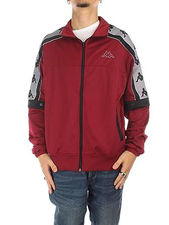 meilleur site web e87d5 480dd Kappa 3031T90 Vestes Homme Rouge M: Amazon.fr: Vêtements et ...