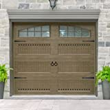 Decorative Carriage House Garage and Entry Door