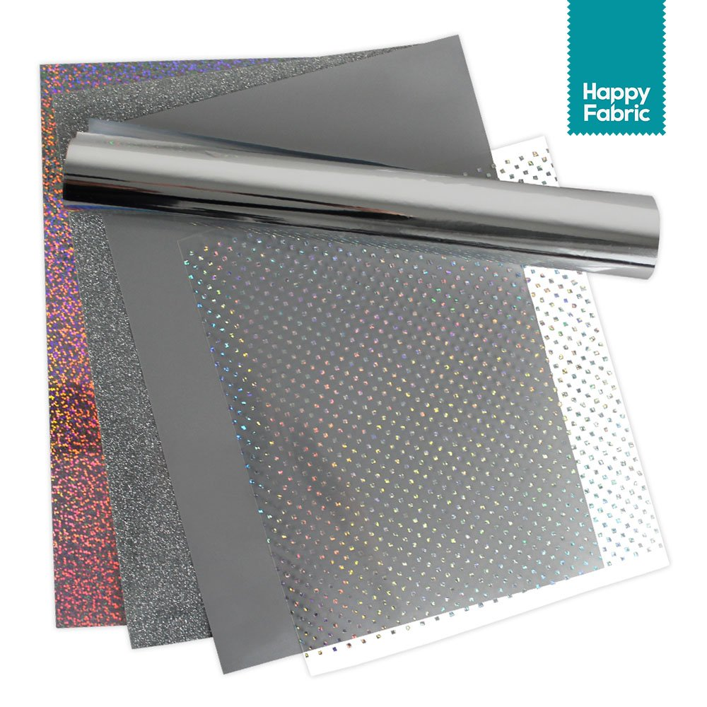 Silber Folienset HappyFabric