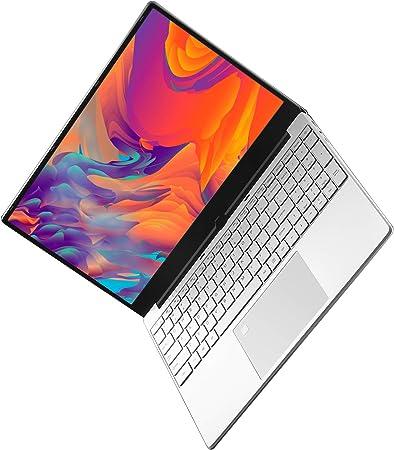 Ordenador Portátil 15.6 Pulgadas IPS, Notebook Intel i5-5257U, 8GB RAM, 256GB SSD, Windows 10, Laptop con Desbloqueo por Huella Digital, Teclado ...