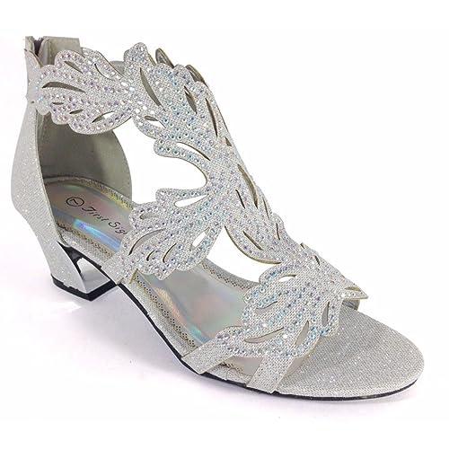 Silver Sandals for Wedding: Amazon.com