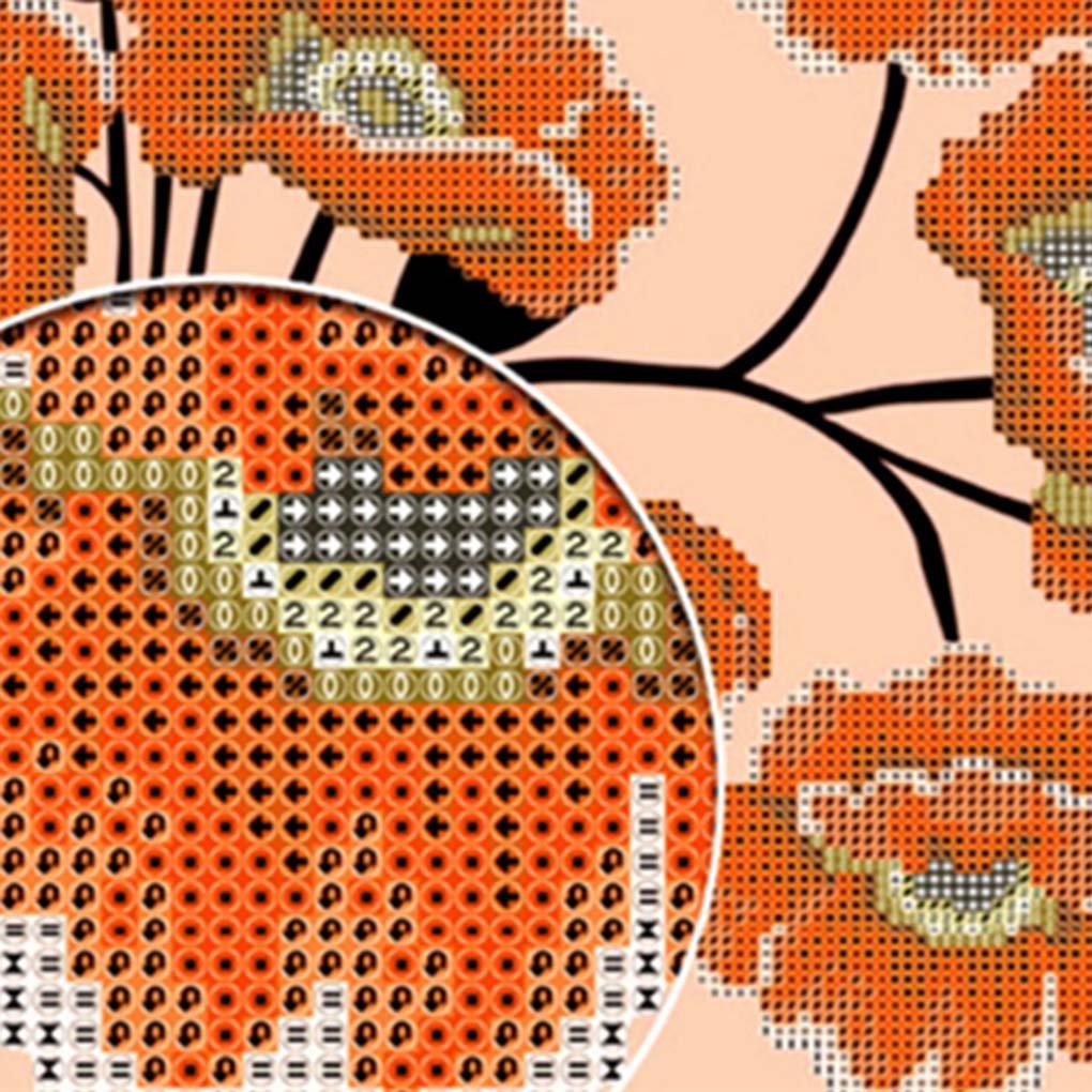 Level 5D Lovers DIY Loup Strass Diamant Peinture Cristal Broderie d/écorative Animal Image Accueil R/ésine Point de Croix