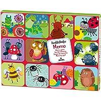 Moses 16119 Memo Kruipkever, speelklassieker voor kinderen vanaf 3 jaar, kleurrijk
