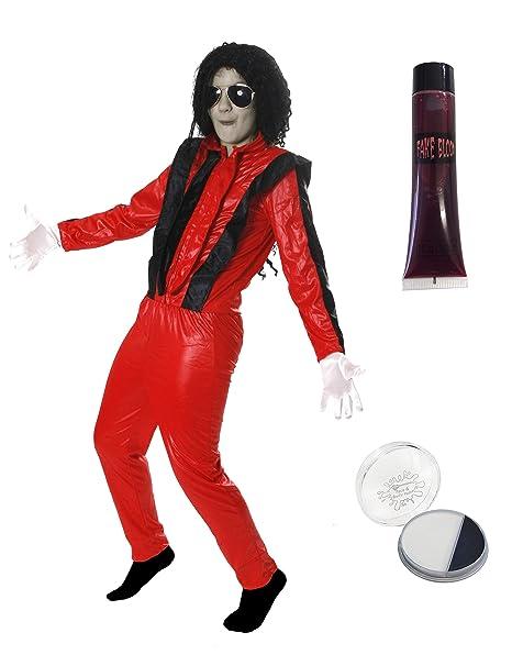 bb09122f0949 Pegasus VESTITO COSTUME Maschera di CARNEVALE bambino  Michael Jackson  Billie Jean Costumi e Travestimento 5 Pezzi Adulto e  ILOVEFANCYDRESS ...