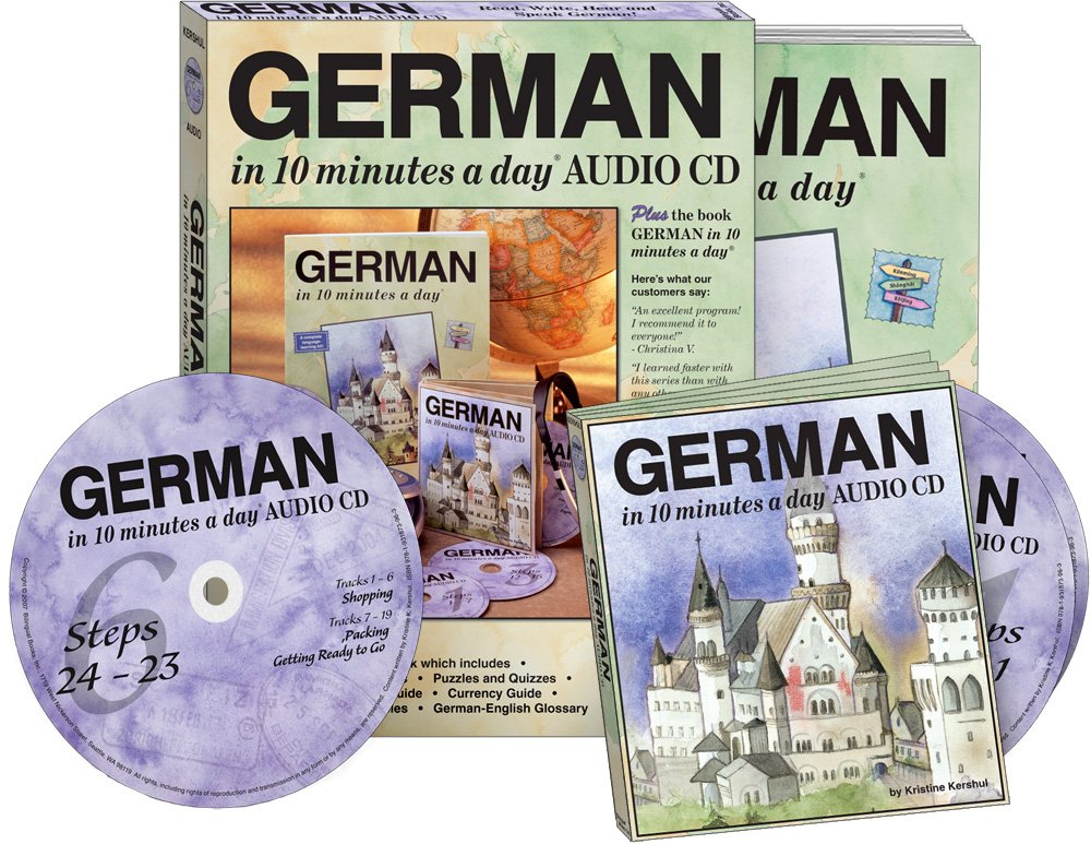 GERMAN in 10 minutes a day® AUDIO CD by Brand: Bilingual Books, Inc. (Image #2)