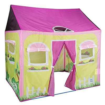 "Pacific Play Tents 60600 Cottage House Play Tent - 58"" x 48"" x 58"": Toys & Games"