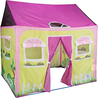 Pacific Play Tents Kids Cottage Play House Tent Playhouse for Indoor / Outdoor Fun - 58  sc 1 st  Amazon.com & Amazon.com: Pacific Play Tents Kids Club House Tent Playhouse for ...