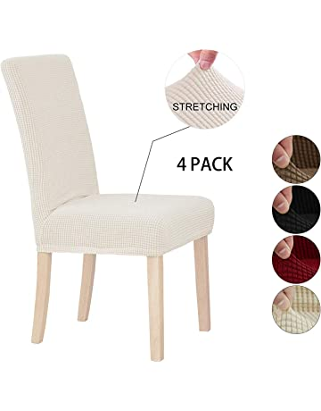 Groovy Amazon Co Uk Dining Chair Slipcovers Home Kitchen Machost Co Dining Chair Design Ideas Machostcouk