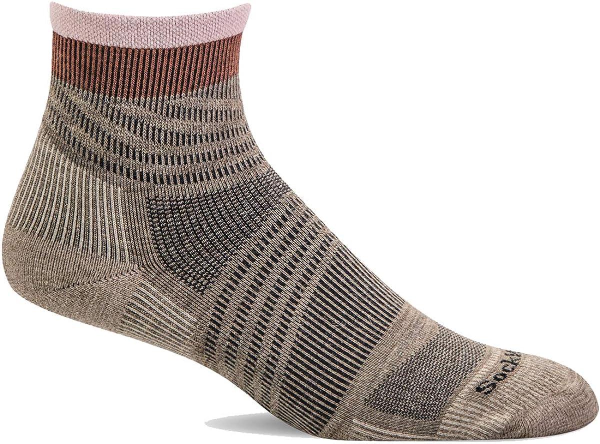 Sockwell Womens Summit Quarter II Firm Compression Sock