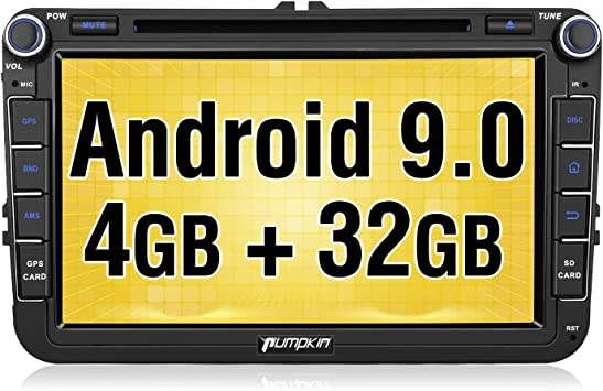 Pumpkin Android 8 0 Autoradio Radio Mit Navi Für Vw Elektronik