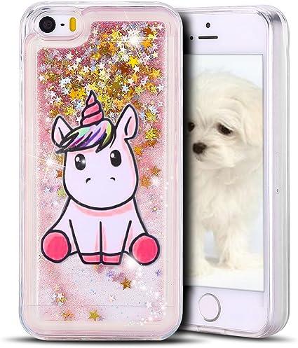 cover iphone 5 glitter liquido