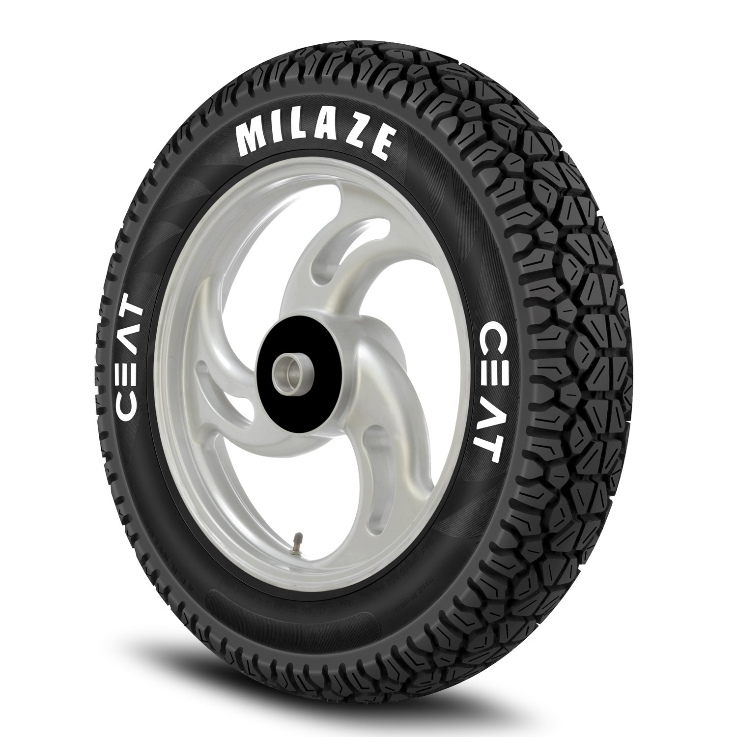 Ceat Milaze 90 100 10 53J Tubeless Scooter Tyre Front or Rear Home