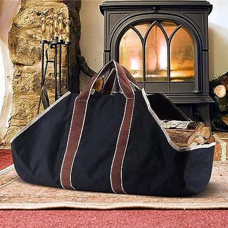 Amazon.com: Carrier - Bolsa de lona para chimenea o chimenea ...