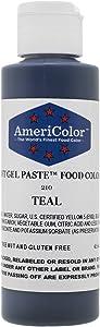 TEAL SOFT GEL PASTE 4.5 OZ Cake Decorating