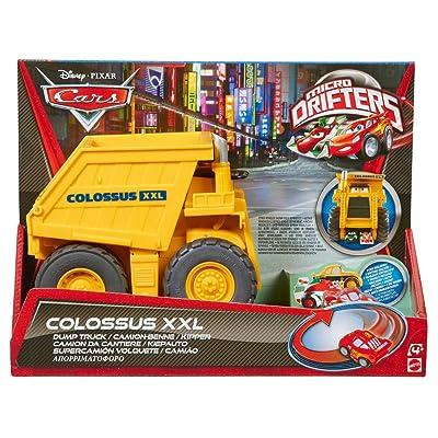 Cars Micro Drifters Colossus XXL Dump Truck: Toys & Games