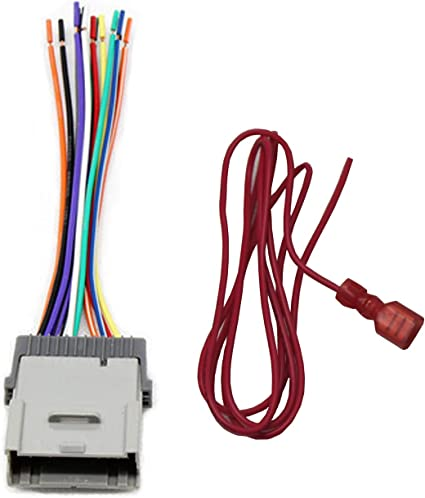 Amazon Com Red Wolf Replacement Stereo Radio Wiring Harness