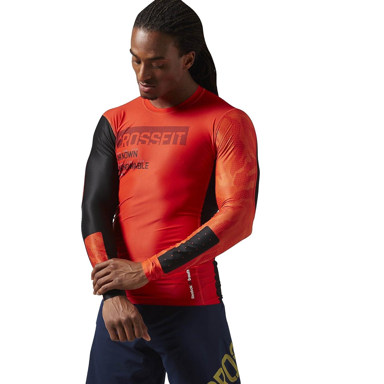 Reebok Men's Crossfit Compression Long Sleeve Tee