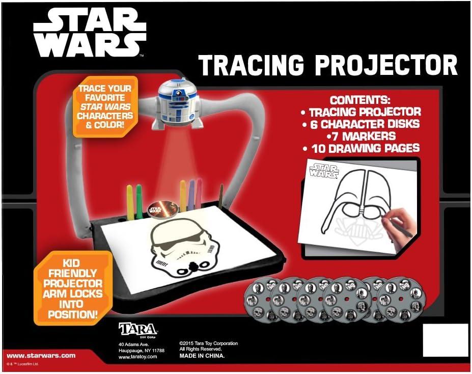 Tara Toy Star Wars Tracing Projector Craft Kit: Amazon.es ...