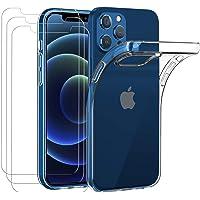 iVoler Hoesje Compatibel met iPhone 12 Pro/iPhone 12 6.1 inches +3 Pack Screen Protector Beschermfolie Van Gehard Glas…