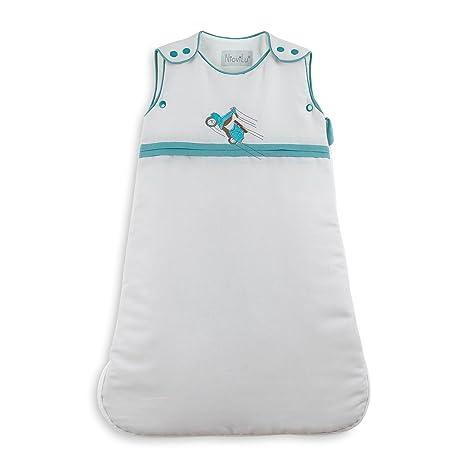 NioviLu Design Saco de dormir para bebé - Wespe (0-6 meses / 70 cm - 2.5 Tog)