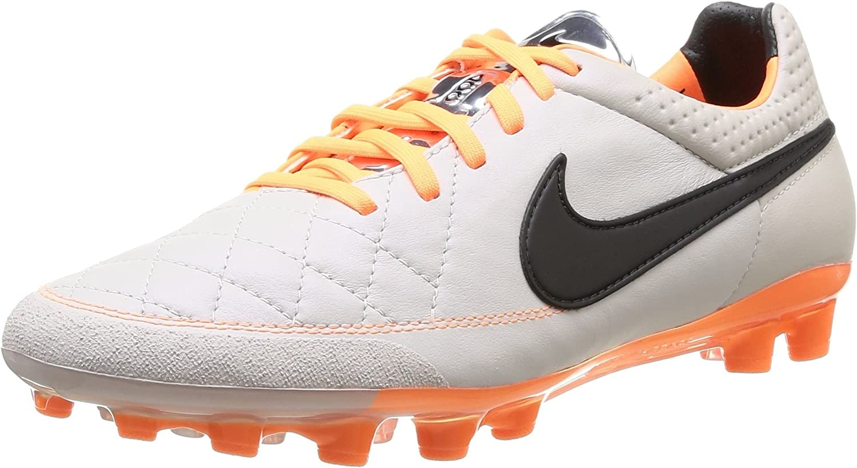 expandir Barricada Intentar  Nike Tiempo Legend V AG 631612-008 Sand/Black/Orange Men's Soccer Cleats  Boots (Size 9): Amazon.ca: Shoes & Handbags