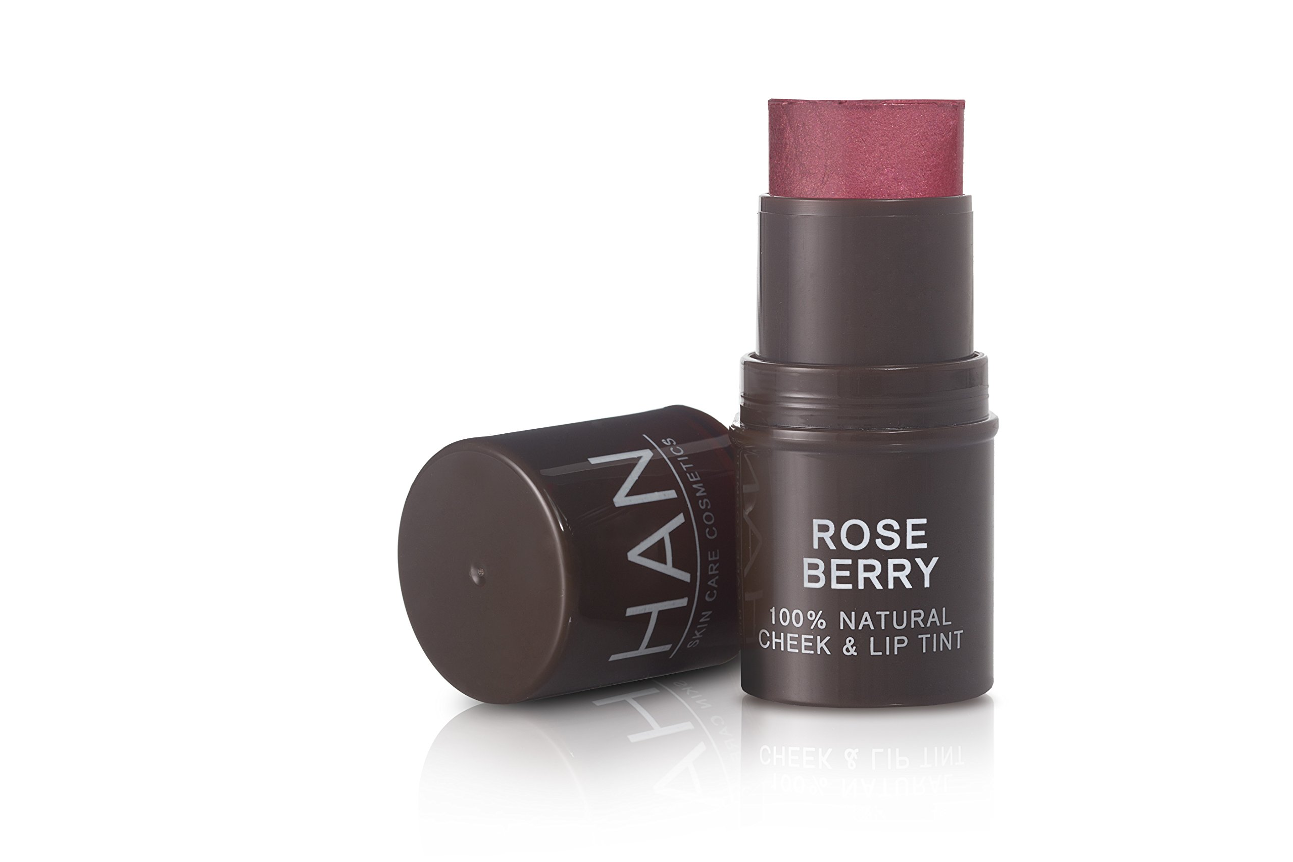 HAN Skin Care Cosmetics Natural Cheek & Lip Tint, Rose Berry