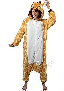 SAZAC Giraffe Kigurumi (All Ages Costume) (Adults)