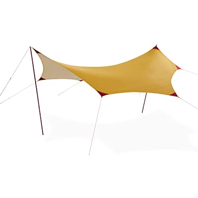 MSR Rendezvous Sun Shield Wing Canopy Camping Shelter, 200 Square Foot: Sports & Outdoors
