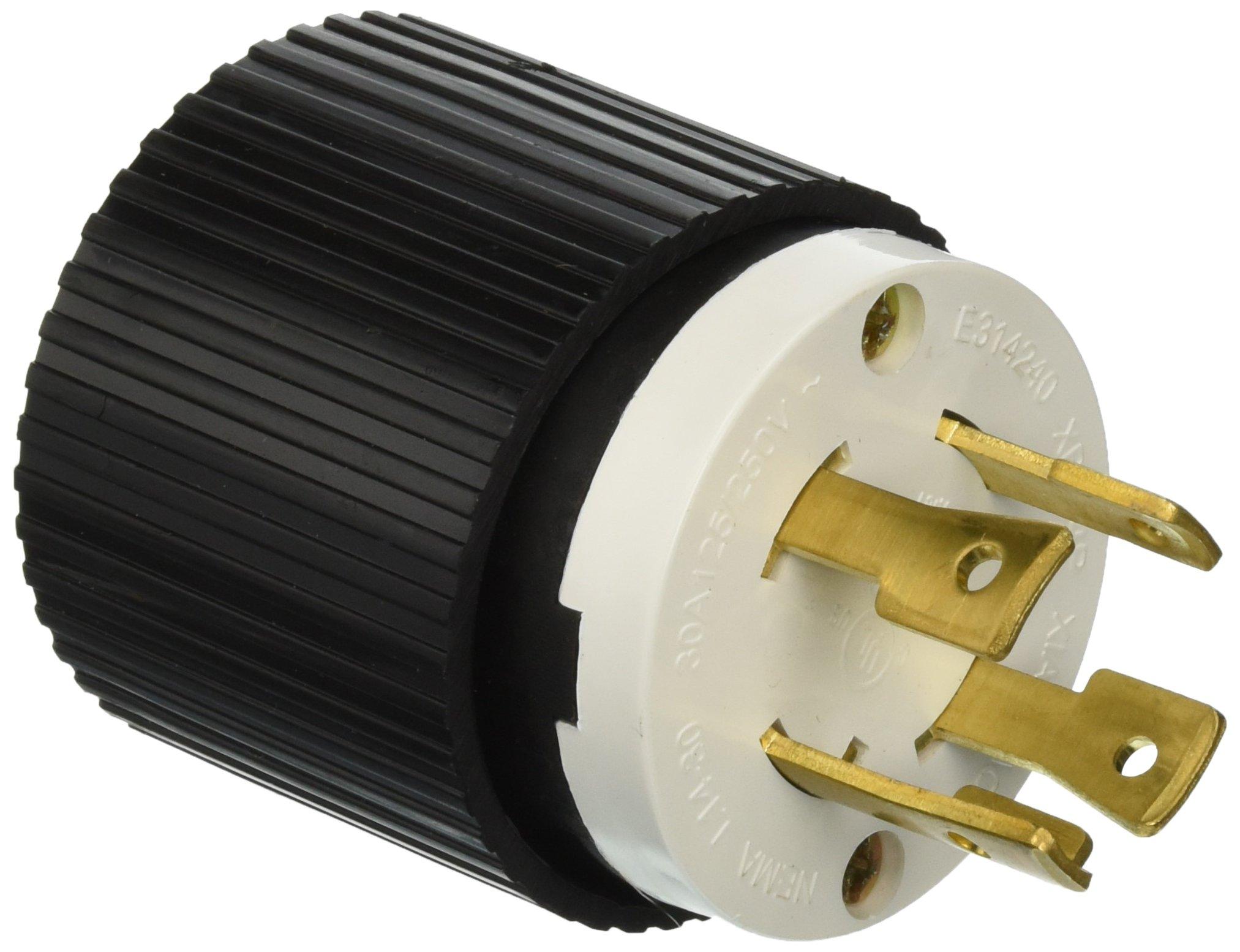 amazon com plug l14 30 30a 125 250v 30p locking generator cable L14-30 Plug Wiring Diagram