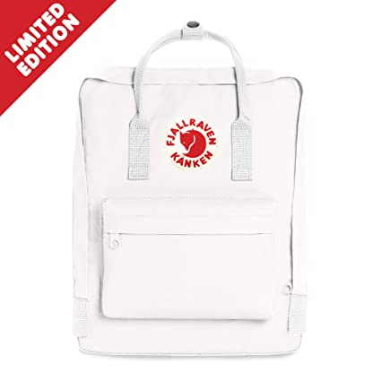 Fjallraven - Kanken Classic Backpack for Everyday, Limited Edition White.  Roll over image to zoom in 8903994a58