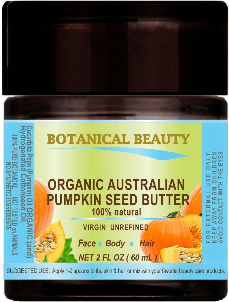 Aceite orgánico para semillas de calabaza australiana. 100% Natural/VIRGIN/INREFINAD/RAW para el cuidado de la piel, el cabello, los labios y las uñas. 2 onzas líquidas