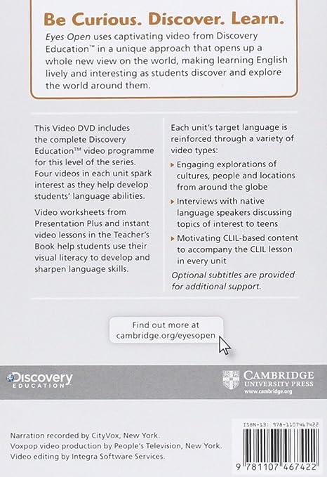 Amazon com: Eyes Open Level 1 Video DVD: Cambridge: Movies & TV