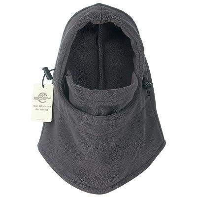 EOZY Unisex Adult Multi Use 6 in 1 Thermal Warm Fleece Balaclava Hood Full Face Mask Hat