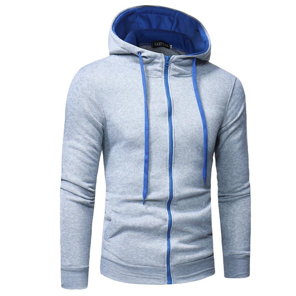 Clearance Sale   M-3XL   ODRDღ Hoodie M ä nner Sweatshirt Sweater Mantel  Windbreaker Herren Outwear Sweatjacke Cardigan Strickjacke ... 12cbda798c