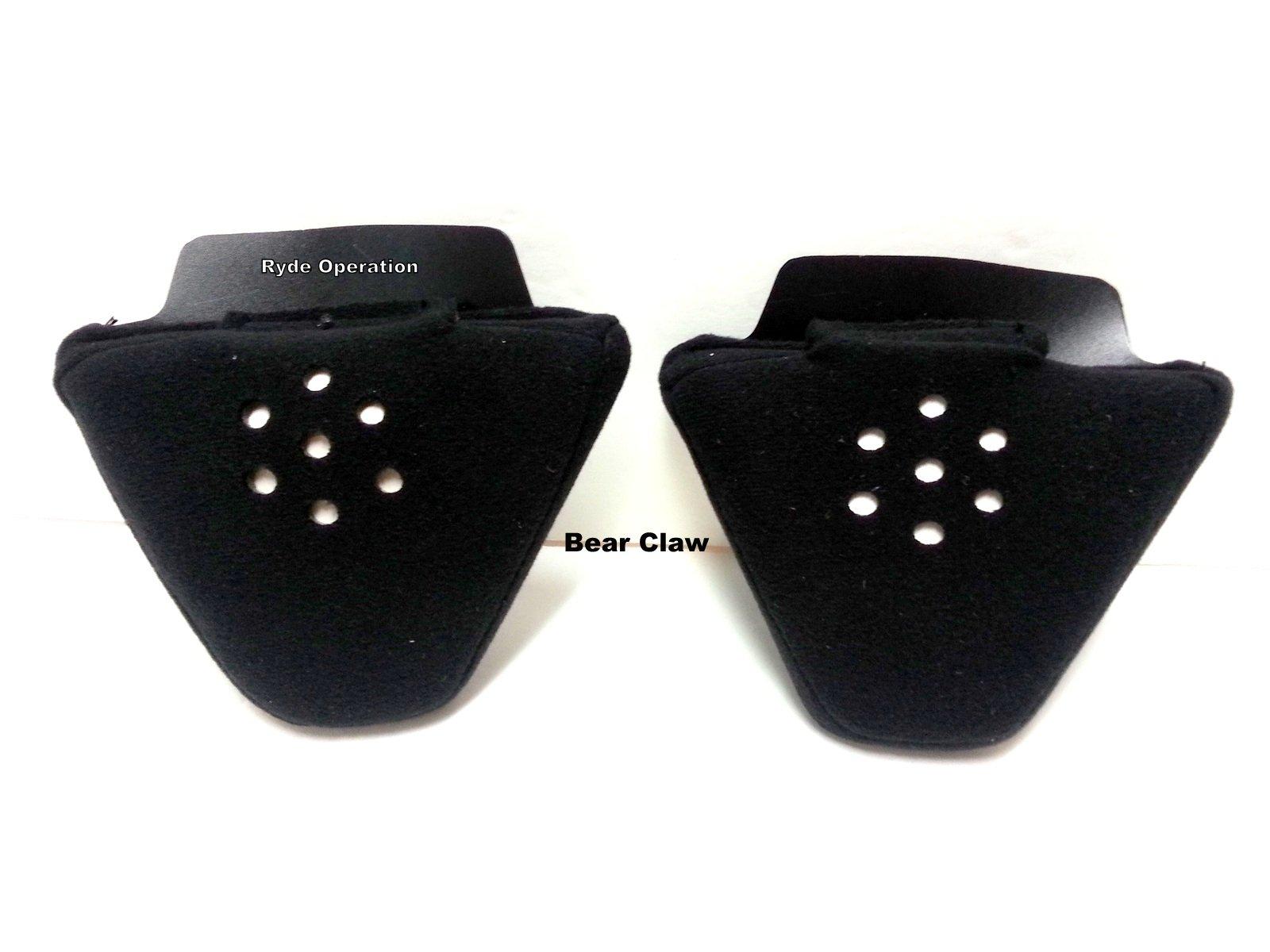 Audio - Ear Pad Inserts - No Wind Noise - Stay Wam - Speaker Ready - Bear Claw MC-AEP