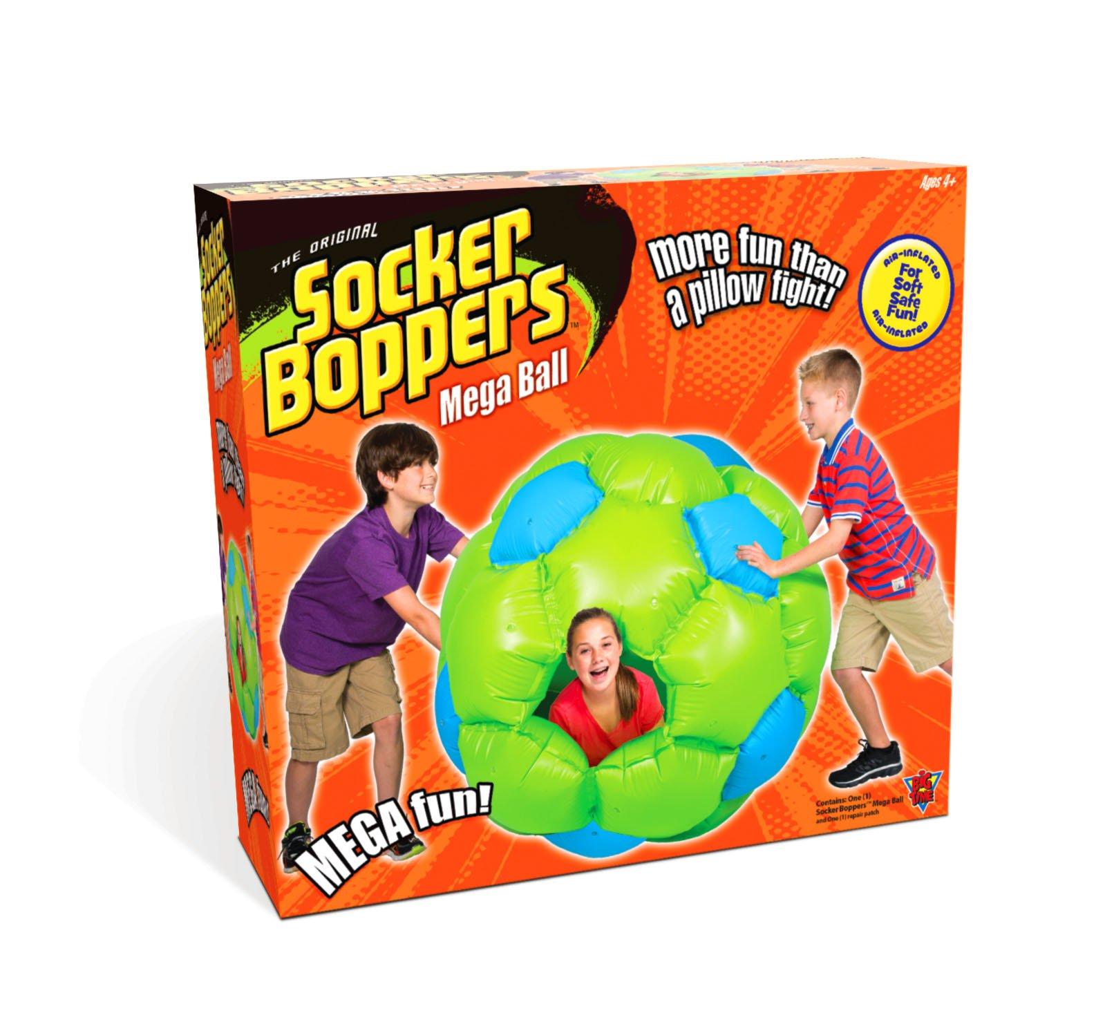 Socker Boppers Mega Ball Giant Inflatable Ball Toy