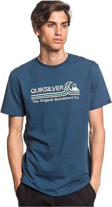 Quiksilver Stone Cold Classic Jr - Camiseta de Manga Corta Hombre: Amazon.es: Deportes y aire libre