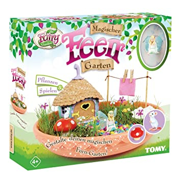 My Fairy Garden Tomy Spielzeugset   Magischer Feen Garten Für Kinder Ab 4  Jahre Zum