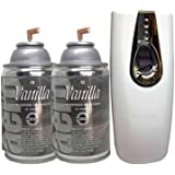Automatic Spray Air Freshener Kit (2) Refills with (1) Dispenser - Aero