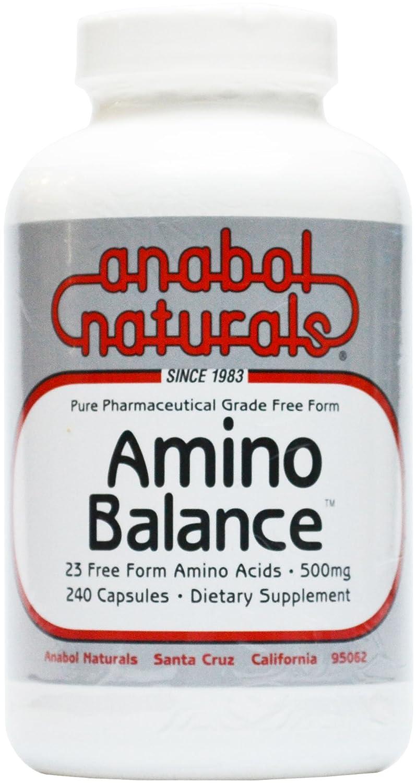 Amino Balance 500mg Anabol Naturals 240 Caps