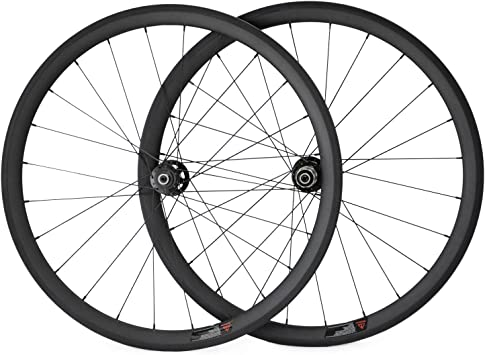 700 C Disco ruedas carbono Tubular bicicleta ruedas de 38 mm para bicicleta de carretera para bicicleta: Amazon.es: Deportes y aire libre