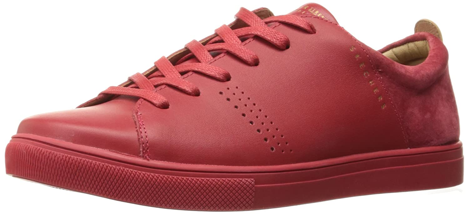 Red Skechers Women's Moda - Clean Street shoes
