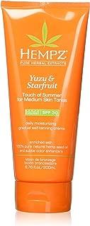 product image for Hempz Yuzu & Starfruit Touch Of Summer Moisturizing Gradual Self-tanning Creme, 6.76 Oz, 6.76 Oz