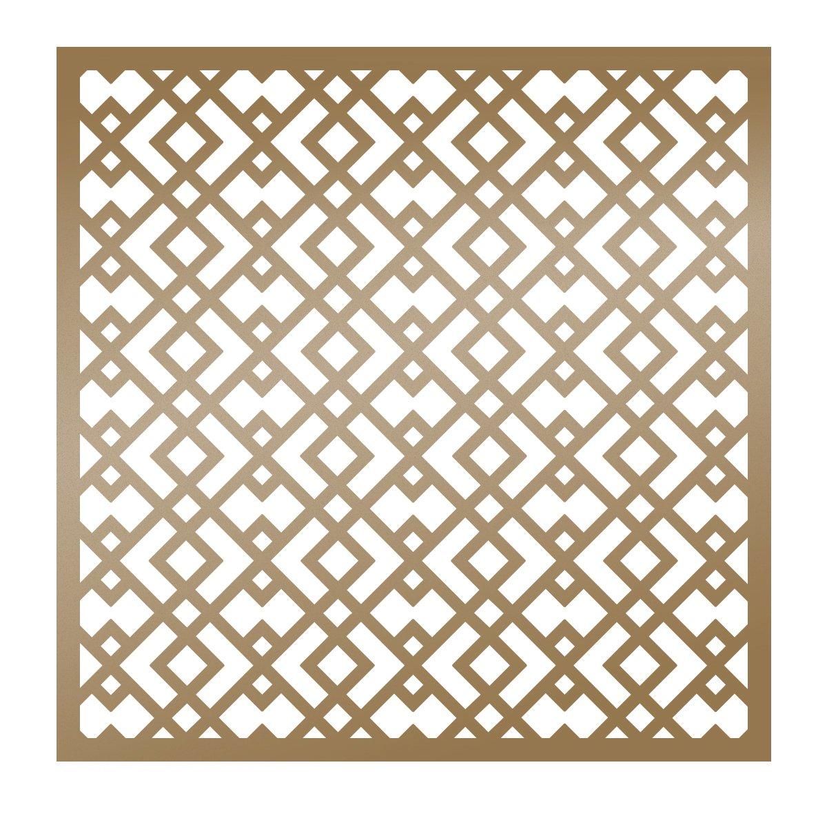 Artdeco Creations ULT157831 Ultimate Crafts The Ritz Stencil 6X6-Geometric
