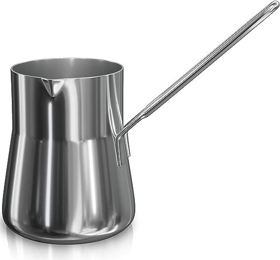 Cafetera turca, leche más caliente, Ibrik Cezve Arabic Briki ...