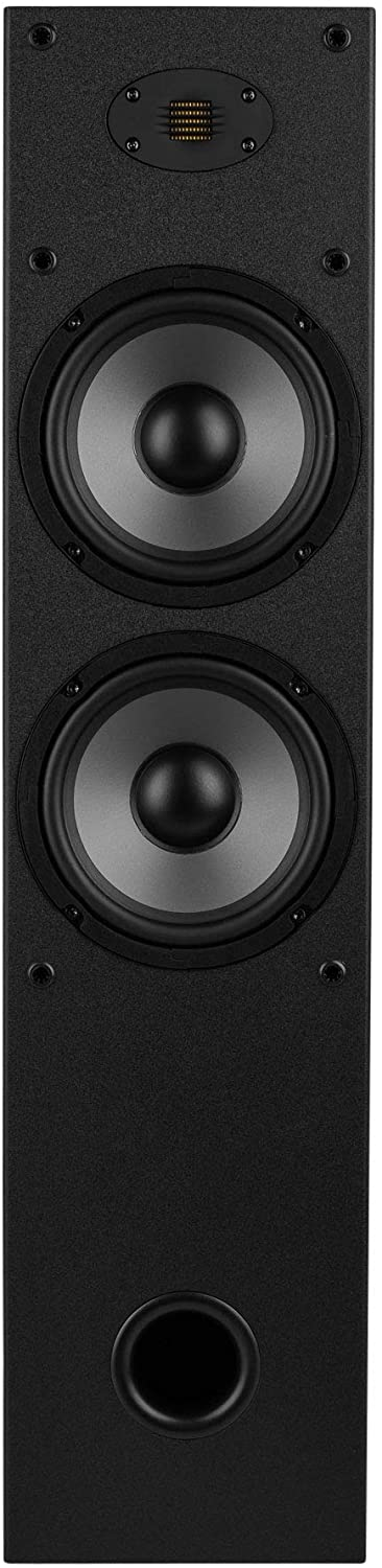 Dayton Audio T652-AIR Dual 6-1 2-Way Tower Speaker Pair with AMT Tweeter