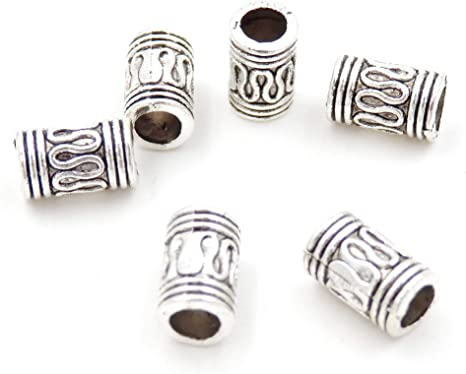 Free Ship 100PCS Tibetan Silver Star Spacer Beads Fit Jewelry Making 6x3mm