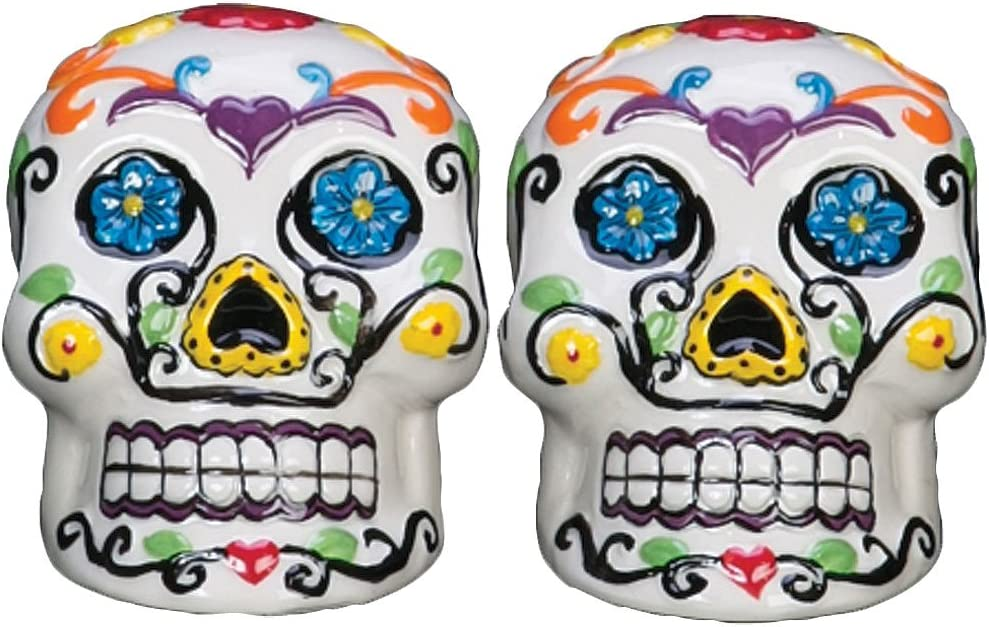 Sugar Skull Salt and Pepper Shakers Page Two